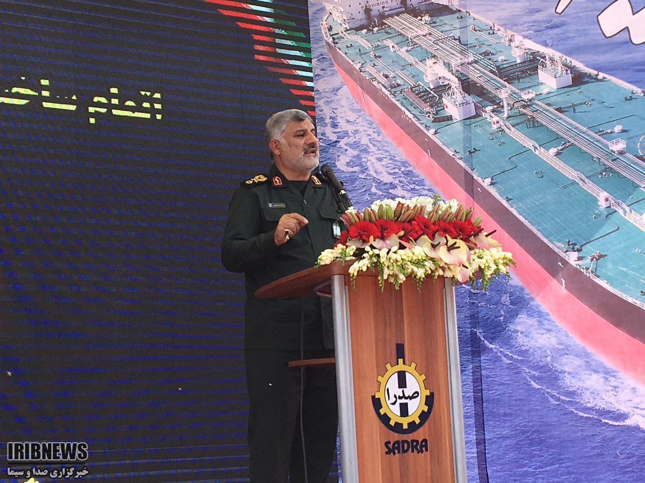 فرمانده قرارگاه سازندگی خاتم الانبیا:تحریم ها در همت جوانان ایران تاثیری ندارد.