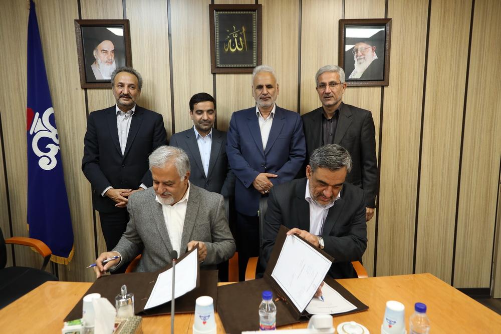 امضای قرارداد تکمیل طرح ان جی ال خارگ