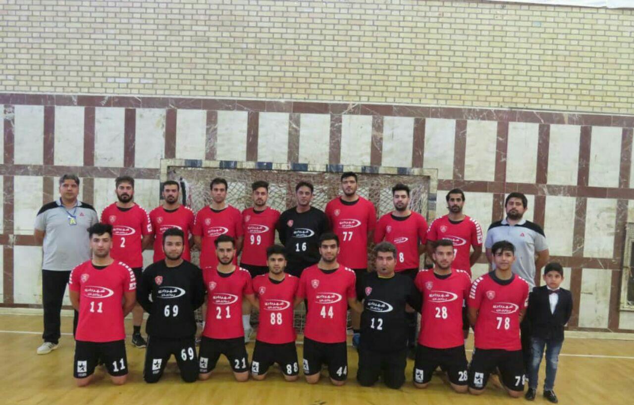 صعود تیم هندبال ستارگان دشتستان به لیگ برتر هندبال کشور
