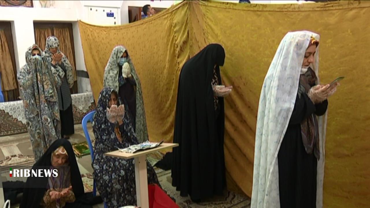 برپایی نماز عید سعید فطر در برخی از مساجد استان بوشهر